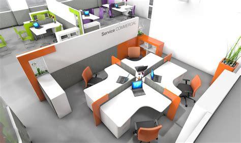mobilier bureau open space agencement bureaux open space oficina