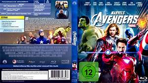 The Avengers Blu-Ray DVD Cover (2012) R2 German