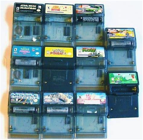 gameboy color value 11 gameboy color rumble pak lot gbc gba sp