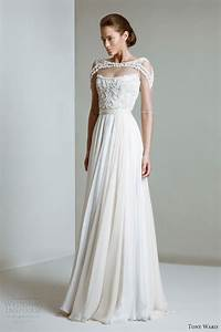 tony ward 2014 bridal collection wedding inspirasi With architectural wedding dresses