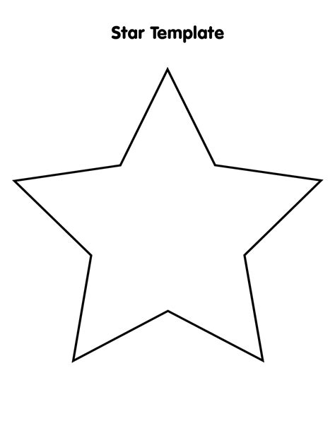 star outline images  images  star outline printable