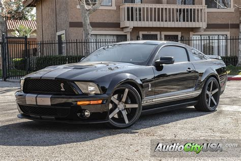 ford mustang shelby gt   niche wheels milan