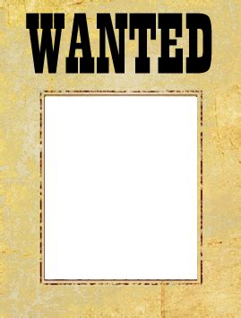 Wanted Poster Template Free  Most Wanted Poster Template. Large Tent Card Template. Blank Funeral Program Template. New Orleans Street Signs. Excel Hourly Schedule Template. Regis College Graduate Admissions. Graduation Party Table Decorations. Business Letter Format Template. Ohio State University Graduate Programs