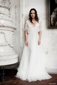 Daalarna 2014 wedding dresses decor advisor for Wedding dress with flutter sleeves