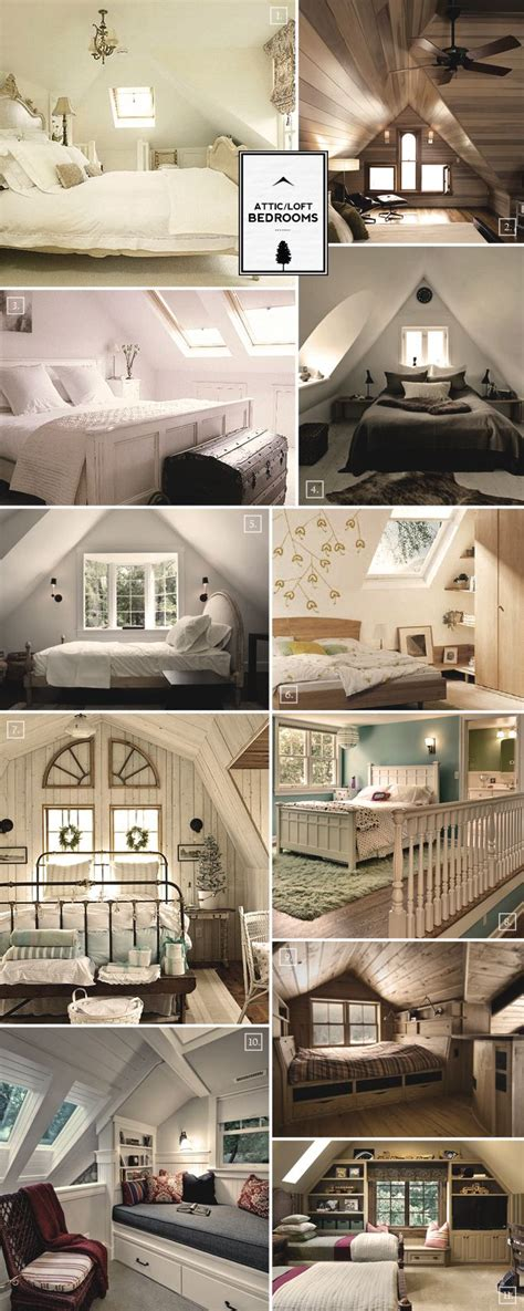 437 best Cozy attic rooms under the eaves! images on