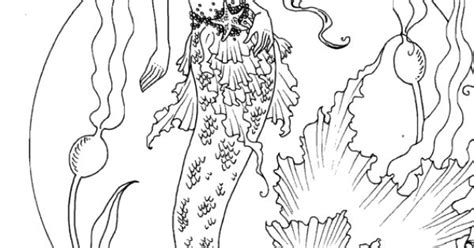 Amy Brown Coloring Book Mermaid Myth Mythical Mystical