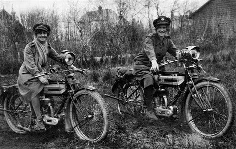 World War One Woman Dispatch Rider Uniform