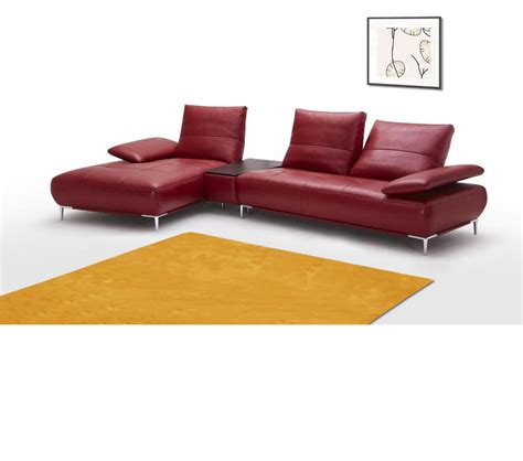 contemporary italian leather sectional sofas dreamfurniture com 941 contemporary italian leather