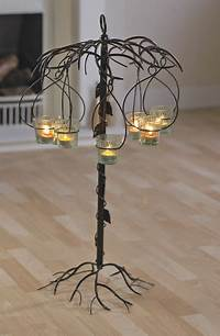 wrought iron candle holder Types of Wrought iron candle holders - In Decors