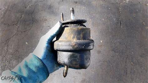 diagnose  bad motor mount  transmission mount