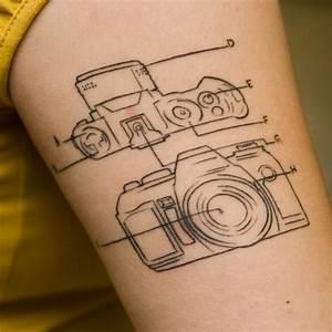 Camera Diagram Tattoos