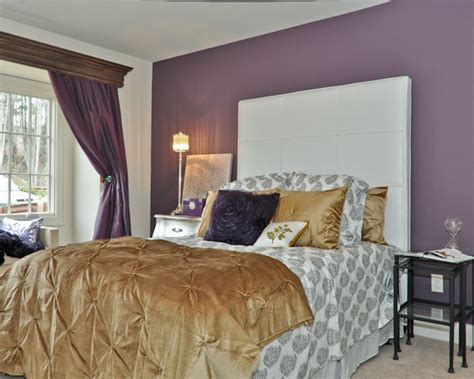 Purple And Gold Bedroom Design Ideas, Pictures, Remodel