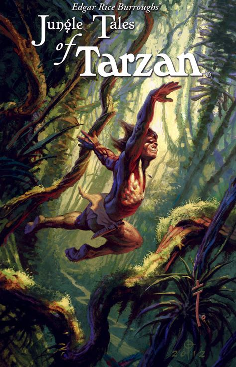 edgar rice burroughs jungle tales  tarzan  hc