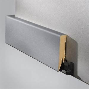 Edelstahl Rundstahl 6 Mm : logoclic sockelleiste edelstahl 2 6 m x 80 mm x 18 mm gerade 5115 laminatleisten gcdk ~ Eleganceandgraceweddings.com Haus und Dekorationen