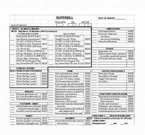 49 Superbill Templates  Family Practice  Physical Therapy