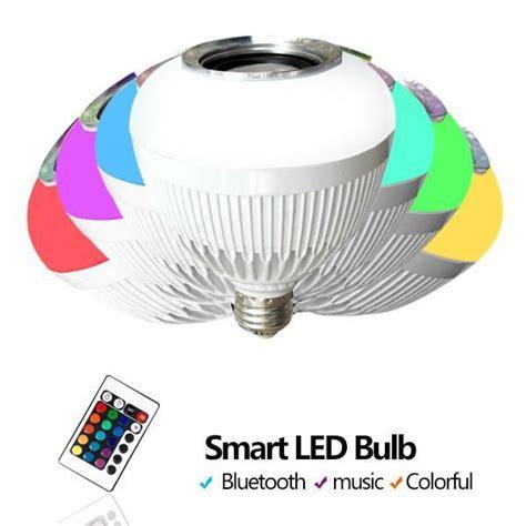 wireless rgb led lights wireless bluetooth led speaker bulb music rgb led bulb
