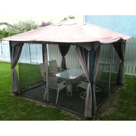 walmart patio gazebo canopy walmart gazebo replacement canopy garden winds canada