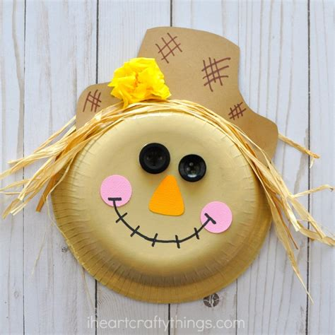 scarecrow preschool activities paper bowl scarecrow craft i crafty things 700