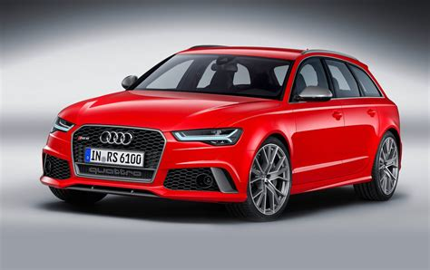 audi rs avant rs sportback performance models revealed