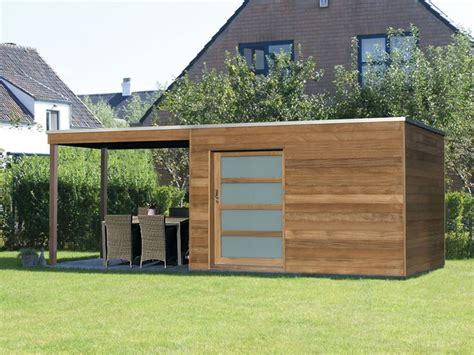 Gartenhaus Flachdach Modern  My Blog