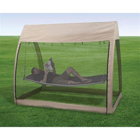 Canopy Hammock by Advantek Outdoors Hammock W Canopy And Bug Screen 24137