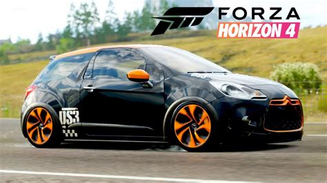 la ds racing sur forza horizon  youtube