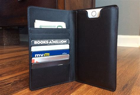 review stylish danny p leather wallet holds iphone 6 6s plus cards and macrumors