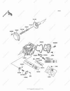 Kawasaki Atv 2004 Oem Parts Diagram For Carburetor  Parts