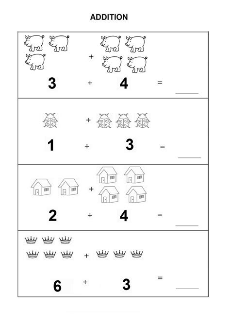 Usable Simple Math Worksheets For Preschoolers Goodsnyccom