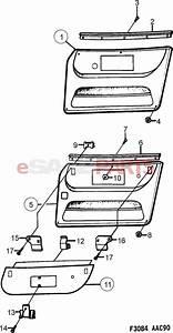 Outstanding Saab Door Diagram Partscomr Saab Front Door Interior Trim Reflector Wiring Cloud Hisonuggs Outletorg