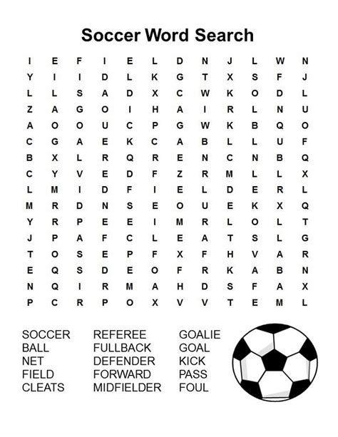 word search football to print activity shelter