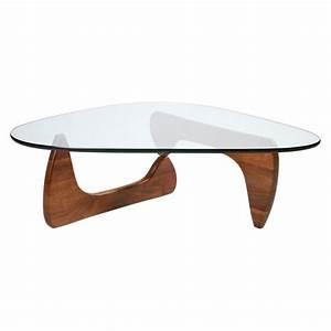 Verre Pour Table Basse : table basse noguchi noyer verre vitra the conran shop ~ Teatrodelosmanantiales.com Idées de Décoration