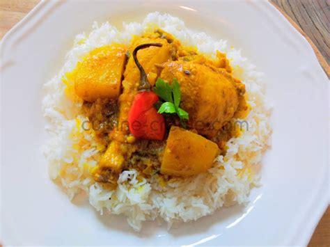 colombo cuisine cuisine antillaise colombo de poulet 28 images recette
