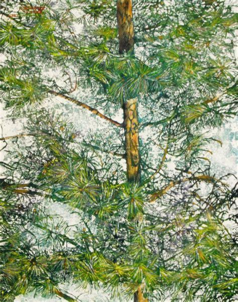 pine  micheal zarowsky    watercolour  arches