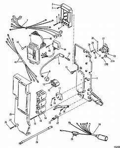 Mercury Marine 90 Hp  3 Cyl   Electrical Components Parts