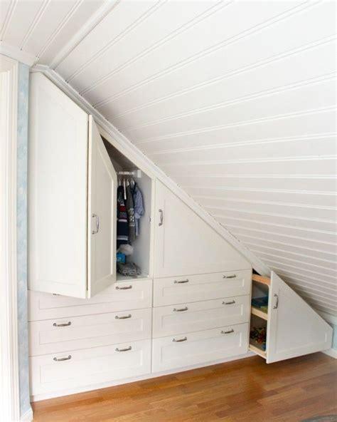 bett für dachschräge schrank unter dachschr 228 ge wohn design