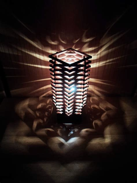 diy dowel lamp     lamp lampshade home