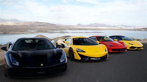 exotic car driving tour vegas outdoor adventures