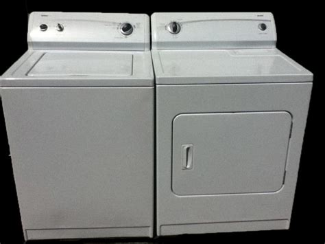 25 used whirlpool kenmore washer and dryer sets
