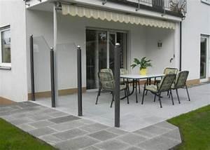 Windschutz Glas Terrasse : terrasse windschutz glas nowaday garden ~ Whattoseeinmadrid.com Haus und Dekorationen