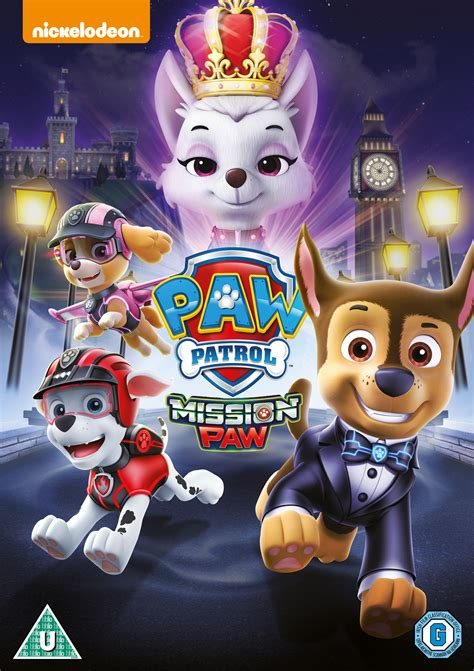 paw patrol paw patrol mission paw dvd hmv store