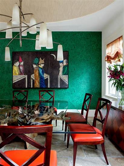 Dining Accent Eclectic Bold Hgtv Nick Johnson