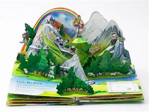 photo gallery of the making of a pop up book With pop up storybook template