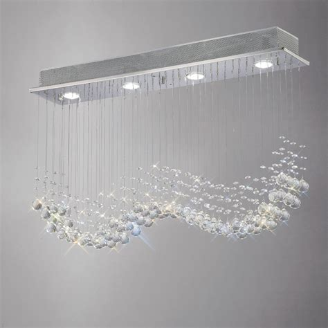 diyas il colorado  light linear crystal pendant