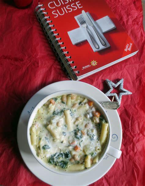 cuisine en ch麩e soupe du chalet soupe aux légumes suisse je cuisine donc je suis