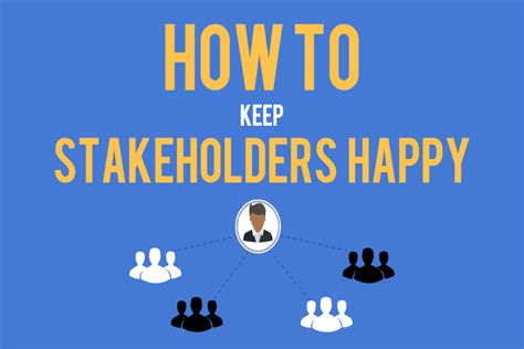 how to keep back to basics part 5 how to keep project stakeholders