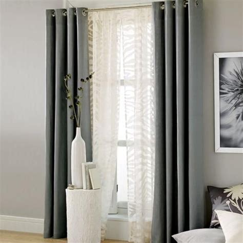 White And Gray Window Curtains by Grey Window Curtains Grey Curtains For Living Room 1