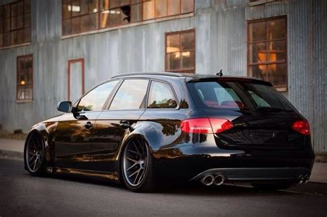 slammed audi wagon slammed audi art comes with 4 wheels pinterest