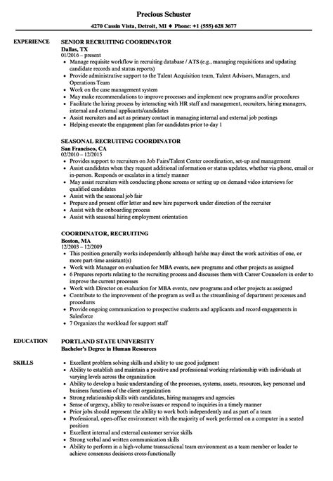 Recruiting Coordinator Recruiting Coordinator Resume. How To Write A Standout Resume. Key Skills For Accountant Resume. Resume For Ba. Resume For Cosmetology Instructor. Microsoft Office Resume Templates. How To Prepare A Resume For A Job. Medical Biller Resume. Resume Titles Examples