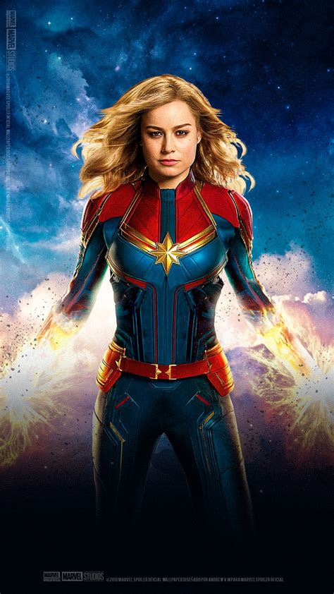 A stunning display of grit and determination, and perfectly sums up her anger as she flies. Captain Marvel Wallpaper For iPhone | 2020 3D iPhone Wallpaper
